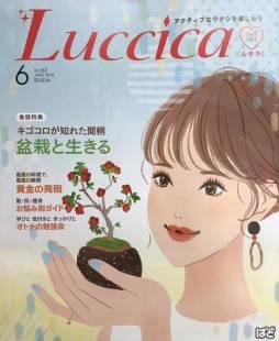 「Luccica(ルチカ)6月号」にて一の坊グループ「海と山と森のリゾートガーデン」をご紹介いただきました