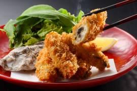 初物の宮城県雄勝産2年もの大ぶり生牡蠣使用「究極のかきフライ」11月1日(月)よりスタート!