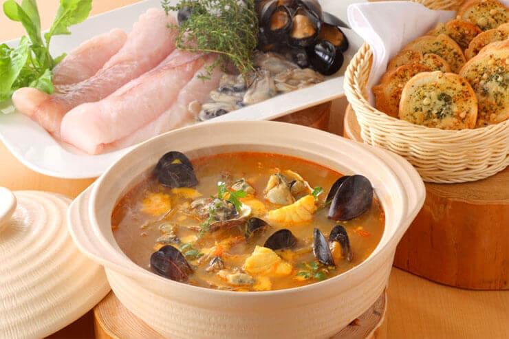 オコゼと牡蠣のブイヤベース
