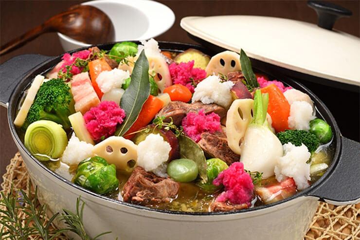 カラダあたたまる蔵王根菜のポトフ