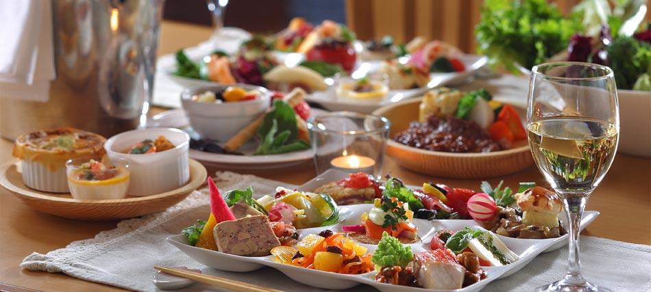 野菜ソムリエのシェフがつくる高原野菜料理