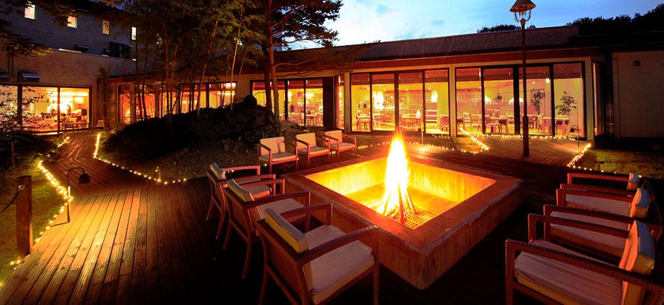 焚き火ガーデン